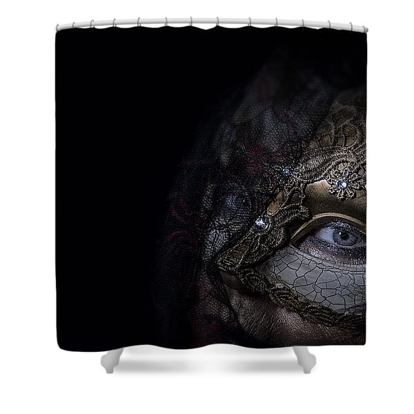 Corner Of My Eye Shower Curtain