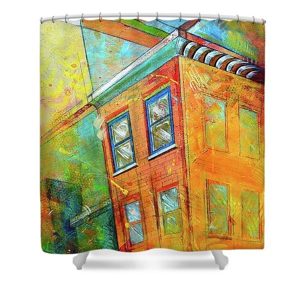 Cornice Shower Curtain