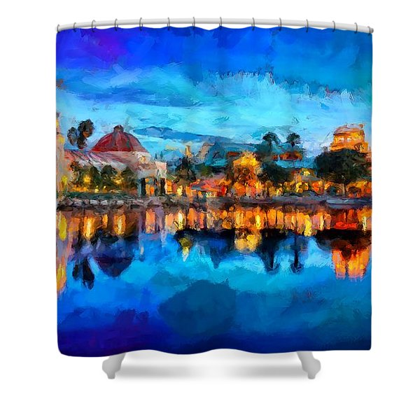 Coronado Springs Resort Shower Curtain
