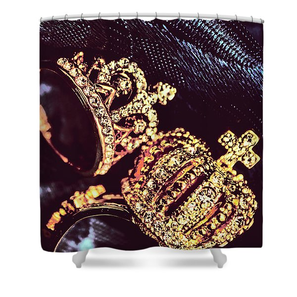 Coronation Of Jewels Shower Curtain