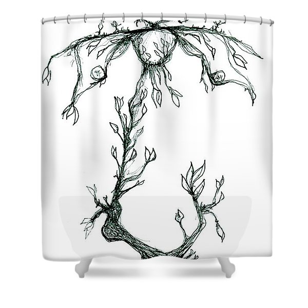 Corporate Cracked Pet Shower Curtain