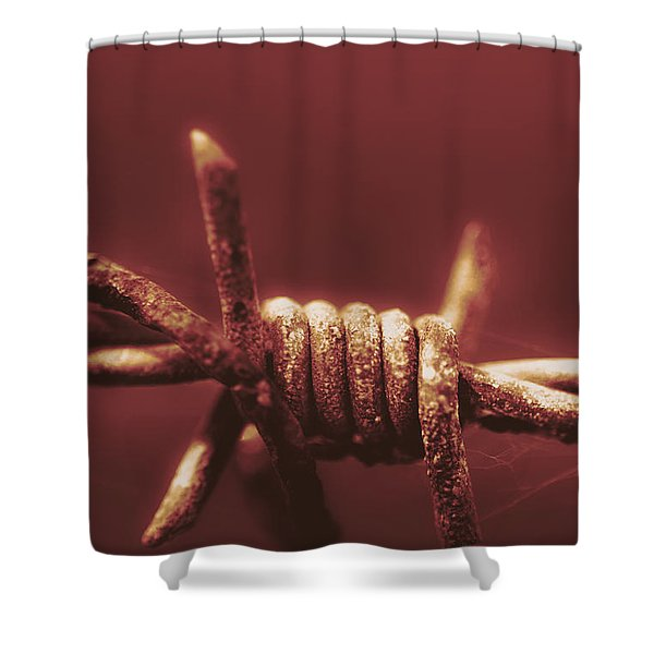 Corrosion Of Civil Liberties Shower Curtain