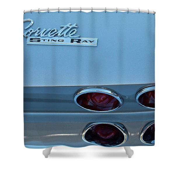 1967 Corvette Sting Ray Shower Curtain