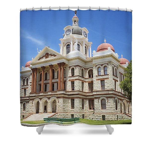 Coryell County Courthouse Shower Curtain