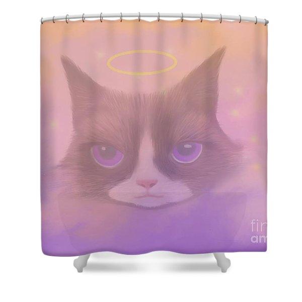 Cosmic Cat Shower Curtain