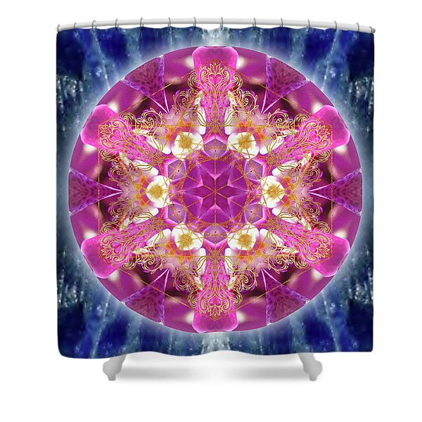 Cosmic Love Shower Curtain