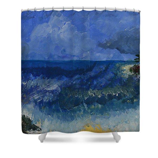 Costa Rica Beach Shower Curtain