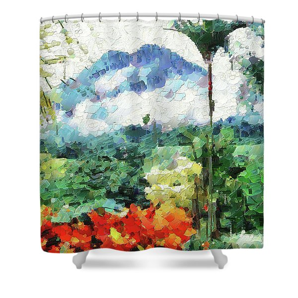 Costa Rica Paradise Shower Curtain