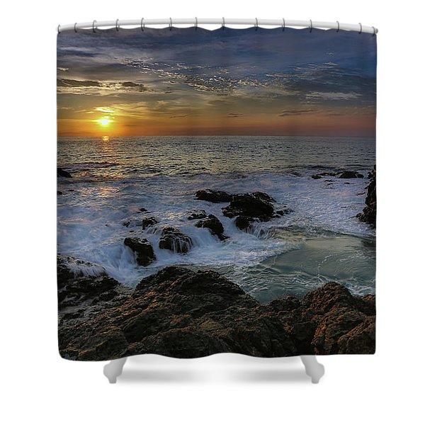 Costa Rica Sunrie Shower Curtain