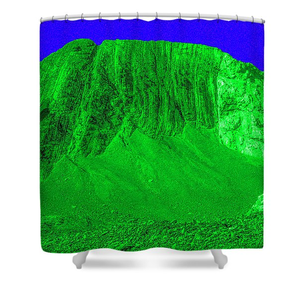 Costard En Algues  Seaweed Costume Shower Curtain