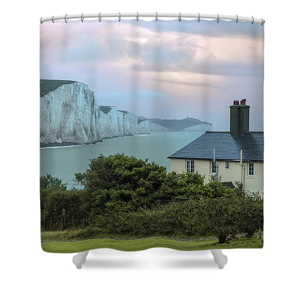 Costguard Cottages Seven Sisters - England Shower Curtain