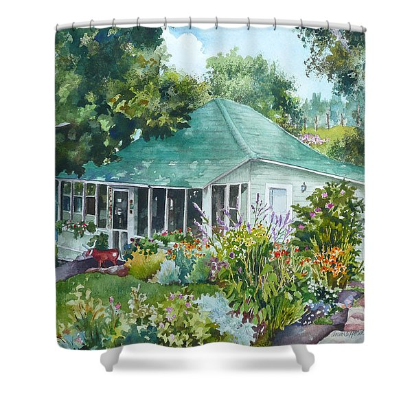 Cottage At Chautauqua Shower Curtain