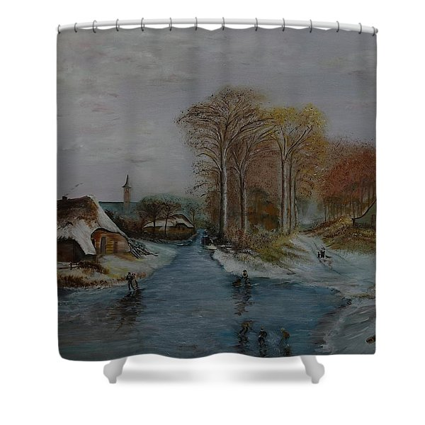 Cottage Country - Lmj Shower Curtain