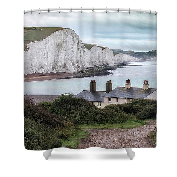 Cottages At Seven Sisters - England Shower Curtain