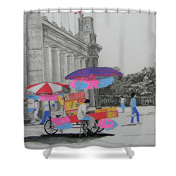 Cotton Candy At The Cne Shower Curtain