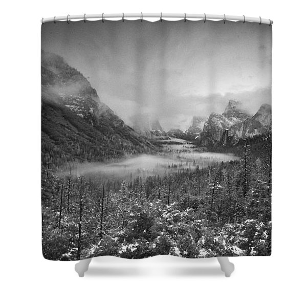 Cotton Candy Blankets Yosemite Shower Curtain