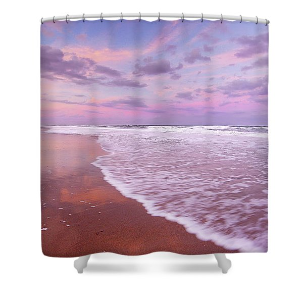 Cotton Candy Sunset. Shower Curtain