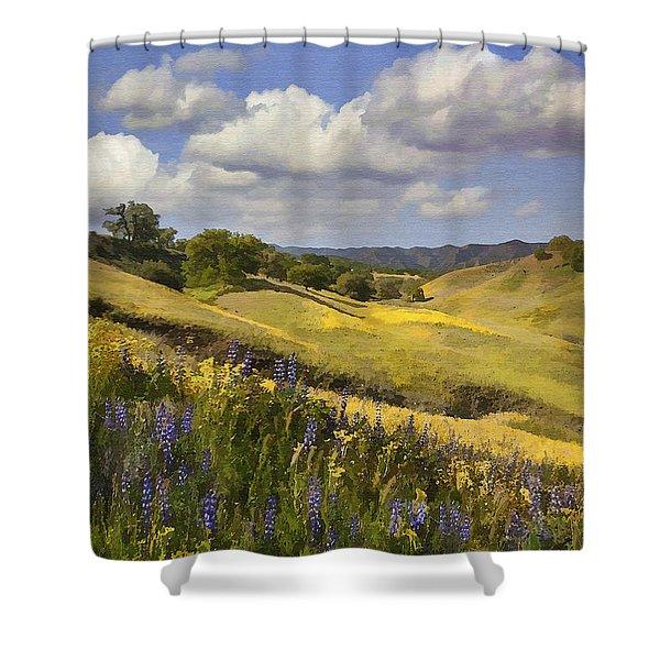 Cottonwood Canyon Shower Curtain