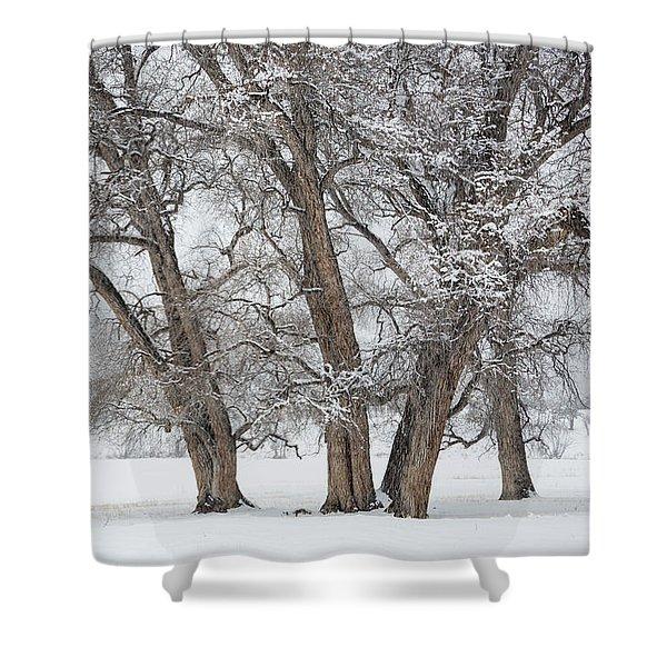 Cottonwood Companions Shower Curtain