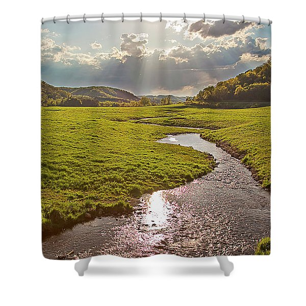 Coulee View Shower Curtain