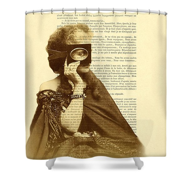 Countess Of Castiglione Shower Curtain