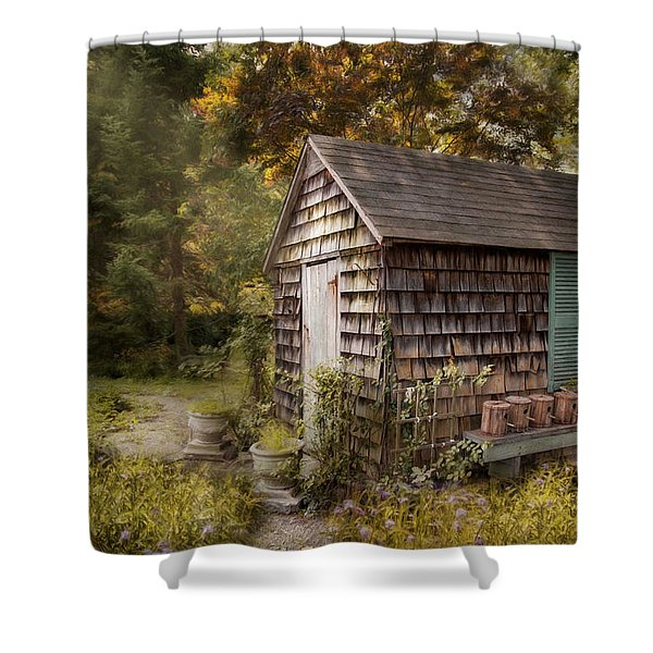 Country Blessings Shower Curtain