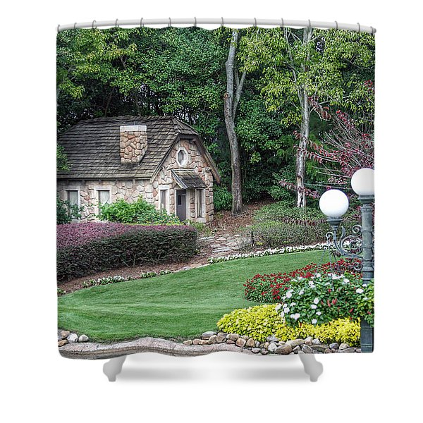 Country Cottage Shower Curtain
