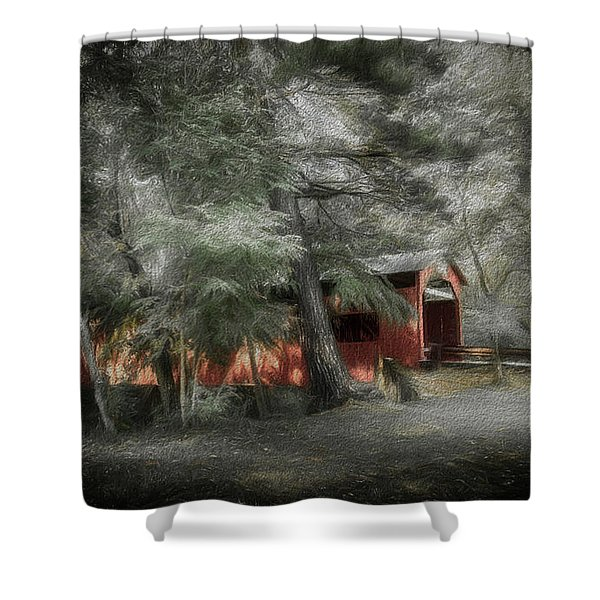 Country Crossing Shower Curtain
