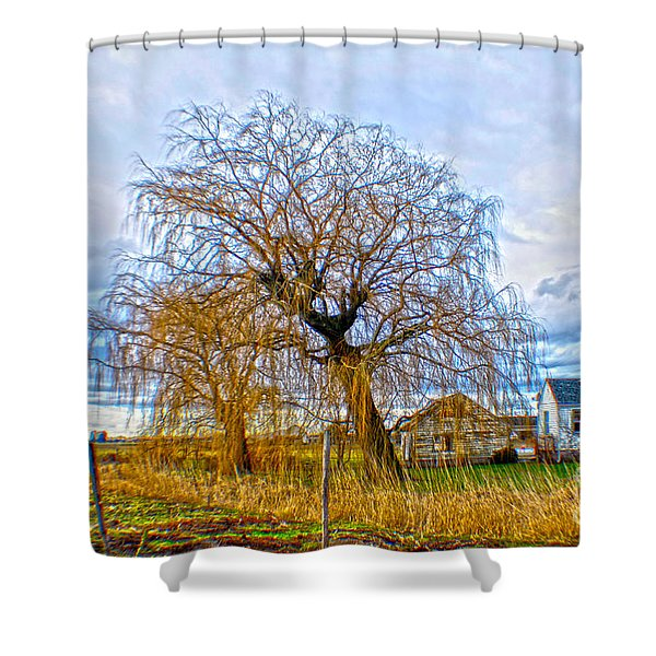 Country Life Artististic Rendering Shower Curtain