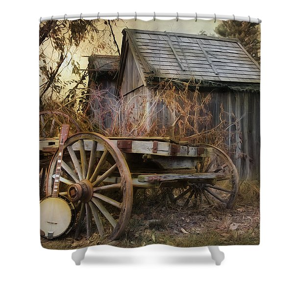Country Music Shower Curtain