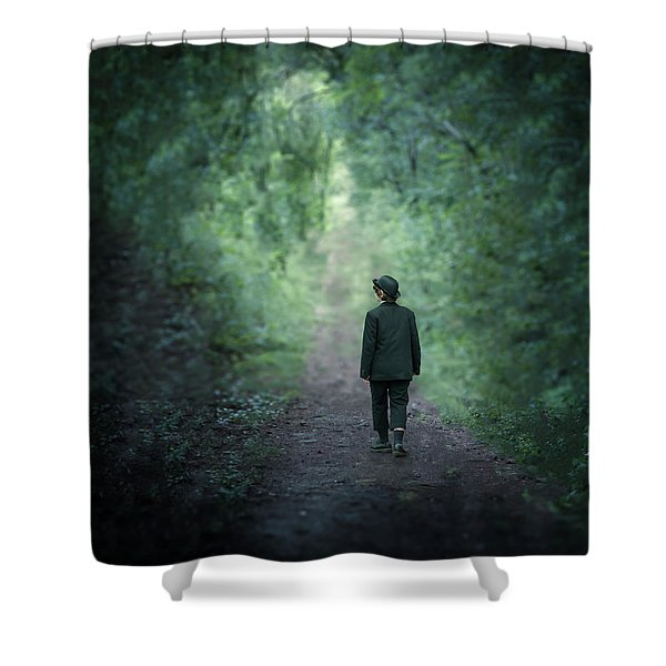 Country Path Shower Curtain