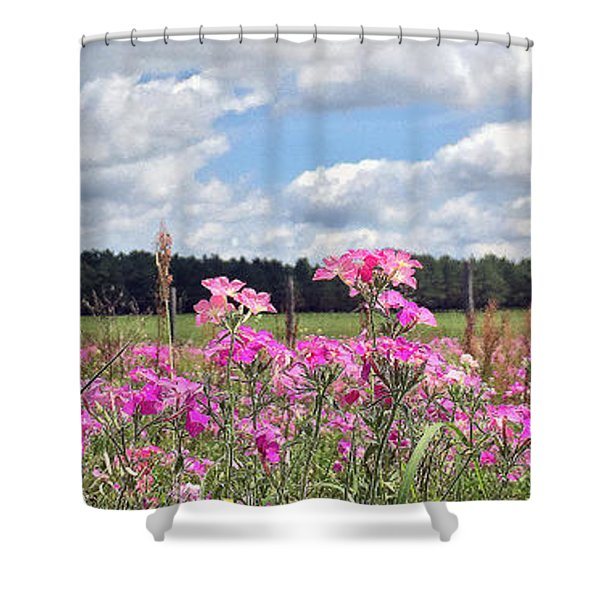 Country Roads Shower Curtain