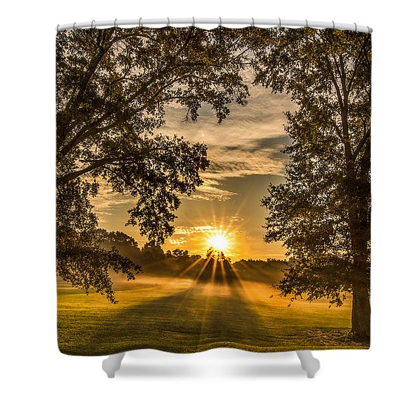 Country Time Rise Shower Curtain