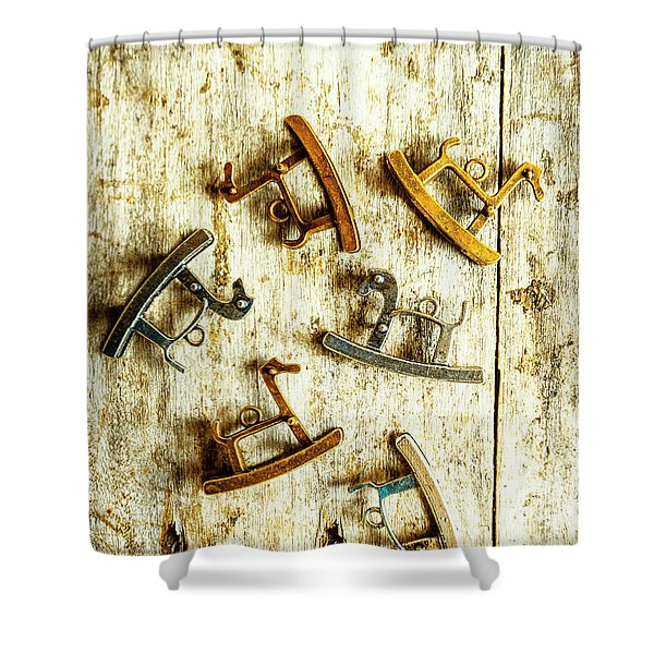 Country Toy Art Shower Curtain