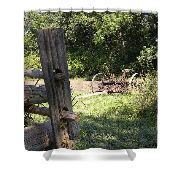 Country Work Shower Curtain