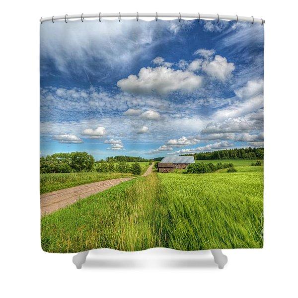Countryside II Shower Curtain