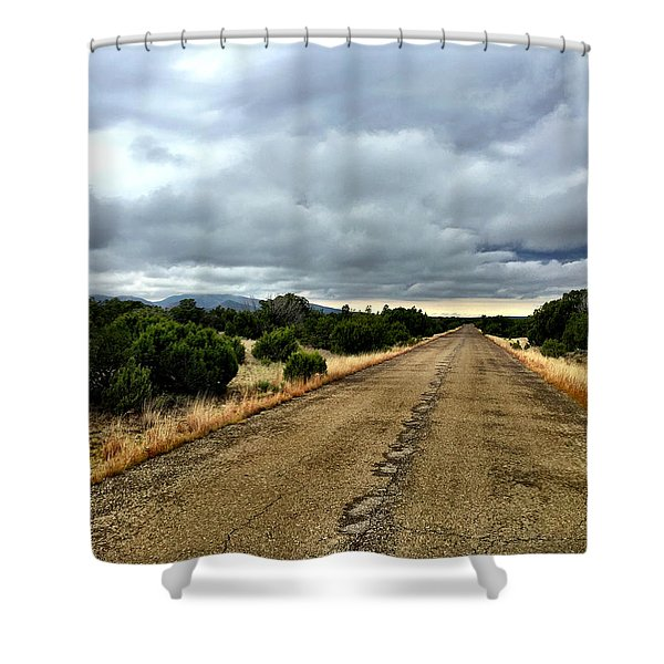 County Road Shower Curtain