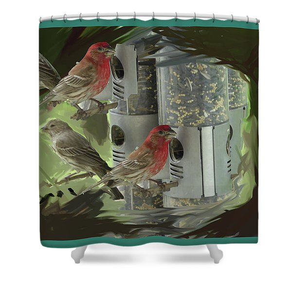 Couples Shower Curtain