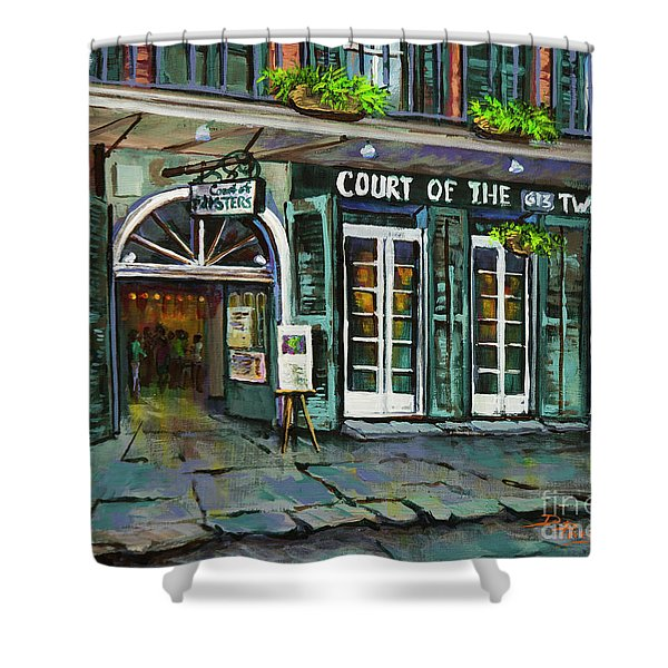 Court Of The Two Sisters Shower Curtain
