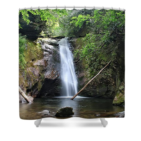 Courthouse Falls Shower Curtain