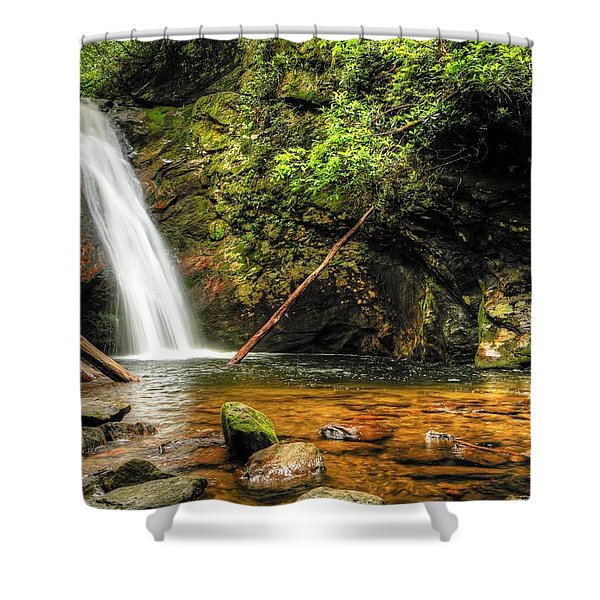 Courthouse Falls II Shower Curtain