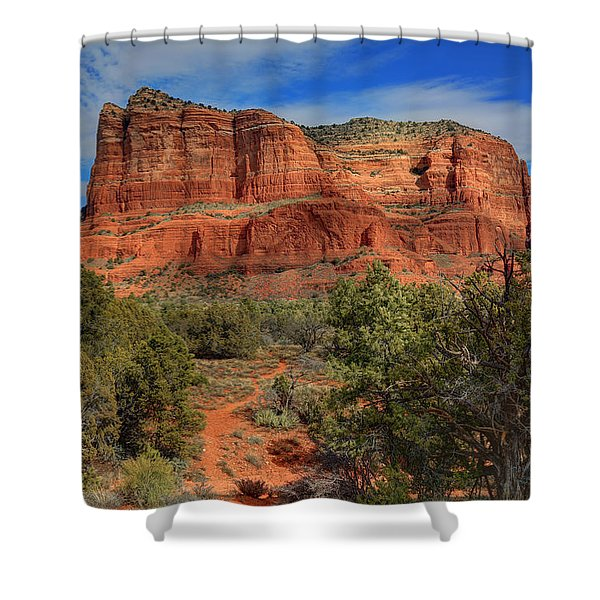 Courthouse In Session Shower Curtain