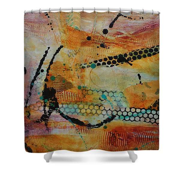 Courtship 3 Shower Curtain