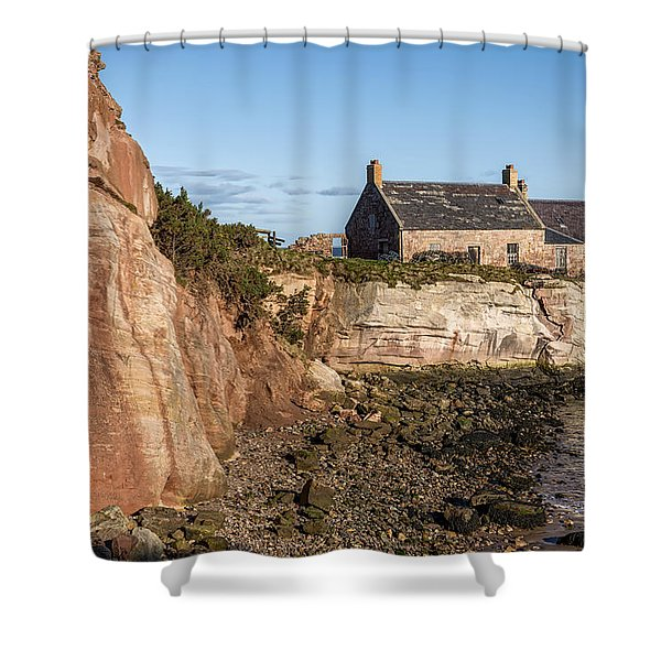 Cove Harbour Shower Curtain