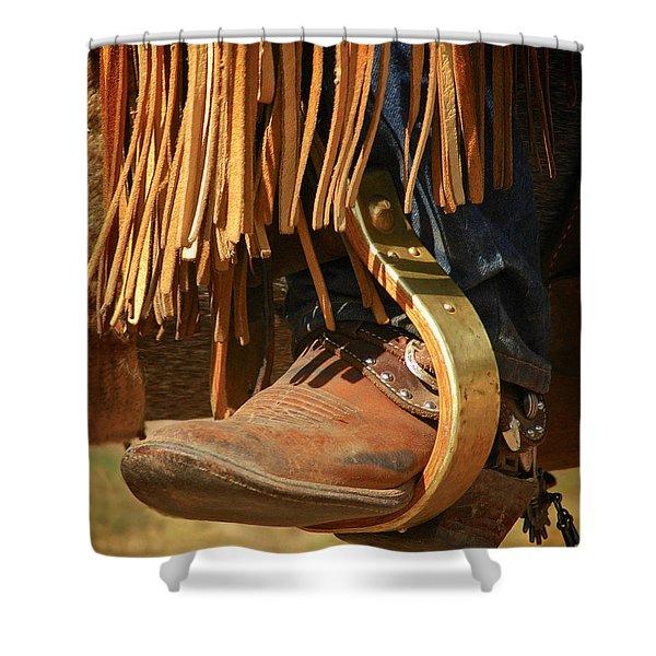 Cowboy Boots Shower Curtain