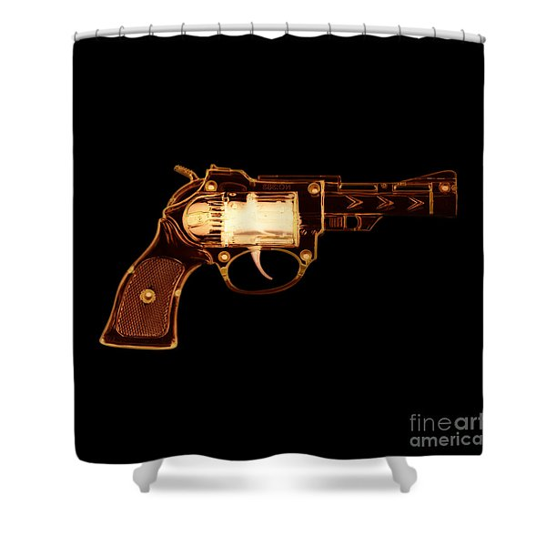 Cowboy Gun 002 Shower Curtain