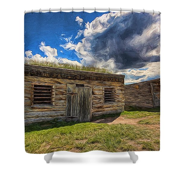 Cowboy Jail Shower Curtain
