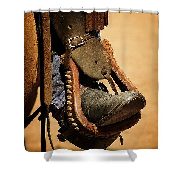 Cowboy Up Shower Curtain