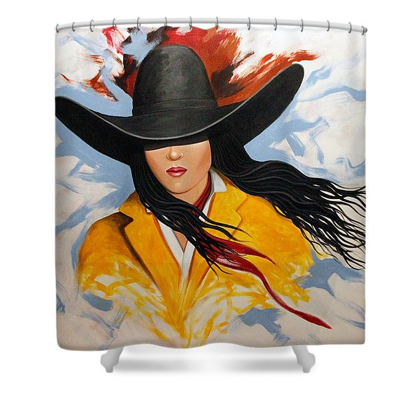 Cowgirl Colors #3 Shower Curtain
