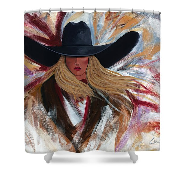 Cowgirl Colors Shower Curtain